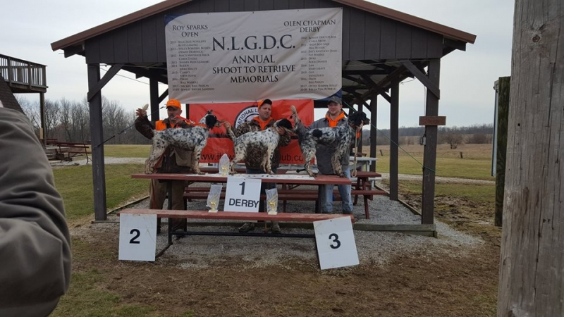 Sunday, March 10, 2019 Derby winners 1st is Fancy with Nate Dixon 3_3 total points 682, 2nd Banner with Rich Dixon 3_3_B total points 679 and 3rd Coal with Andy Erne 3_3 total points 608.