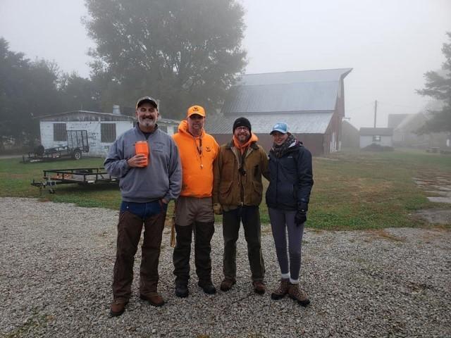 Bob Wilson, Timothy Powell, Shawn Kelly and Alex Kelly.