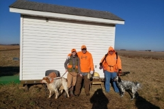 2nd brace. Baylee going out again. With Steve Fuess and Bill Billy Butler Sr. — with Timothy Powell and Billy Butler Sr..