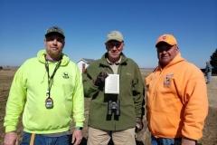 Timothy Powell, vp, and Bill Billy Butler Sr., president, with Diamond Member Bob Bagley