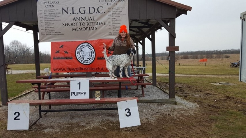 Madison Powell with Emmy 3rd Place Emmy